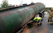 آخرین جزئیات از حادثه برای تانکر حمل سوخت در ساوه