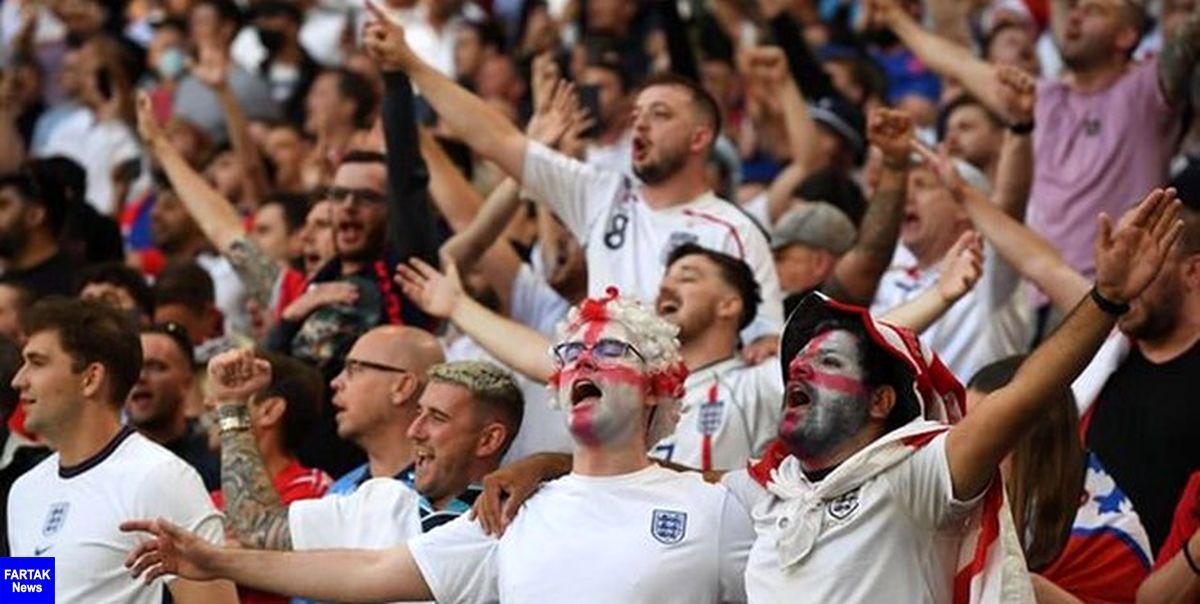 یورو 2020  فدراسیون فوتبال انگلیس جریمه شد