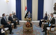 دیدار وزیر نیروی ایران با رئیسجمهور عراق؛ تأکید بر افزایش همکاریها