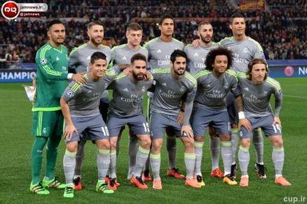 ببینید/ یک عکس عجیب از بازیکنان رئال مادرید قبل از فینال بزرگ امشب!