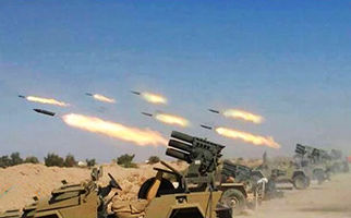 فرود راکت در چند سانتی متری نظامیان صهیونیست+فیلم