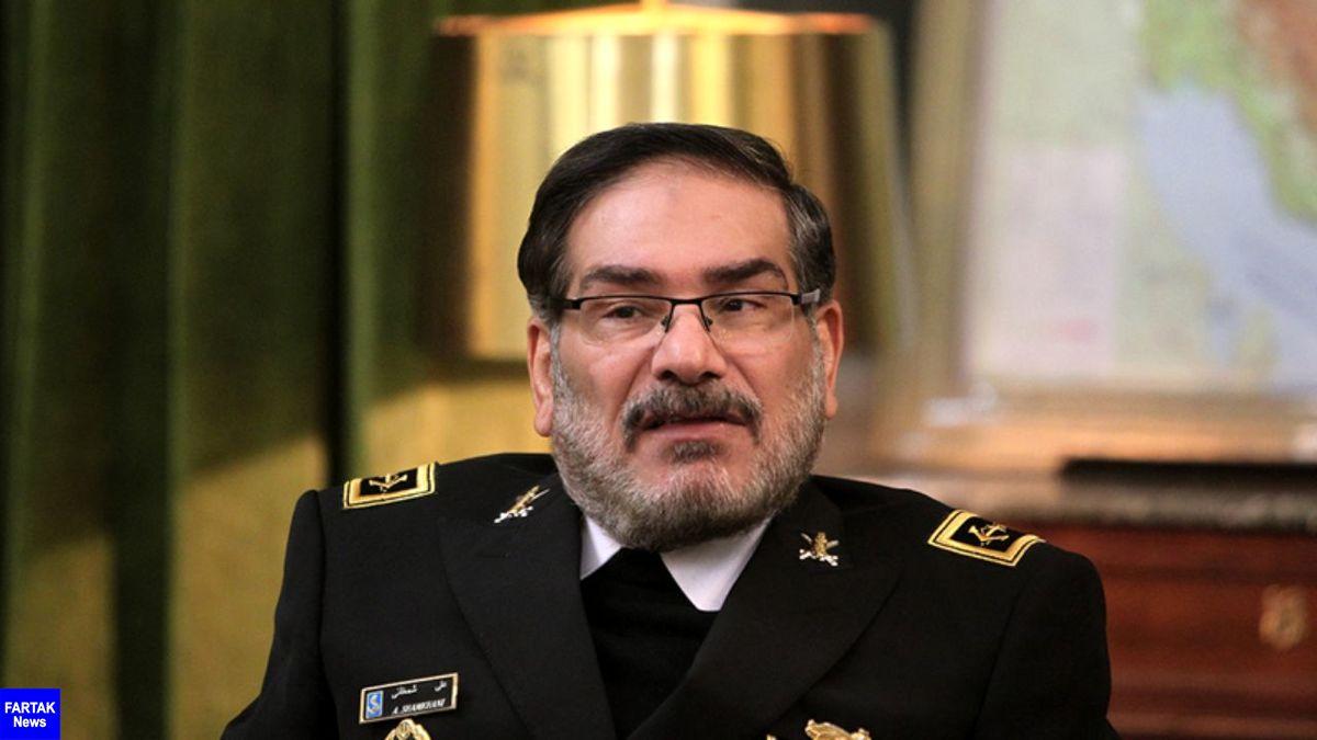 شمخانی: پاسخ افرادی که در ایران از مذاکره و توافق با ترامپ دیوانه سخن میگفتند، چیست؟