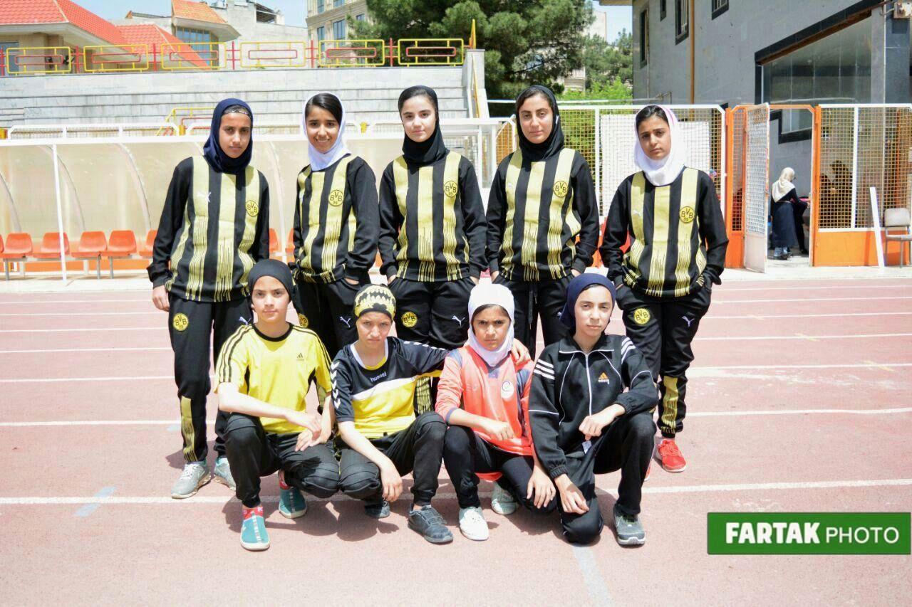 رقابتهای دو و میدانی انتخابی المپیاد استعدادیابی نونهالان و نوجوانان دختر