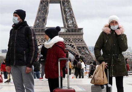 تعداد قربانیان ویروس کرونا در فرانسه به ۴۵۰ نفر رسید