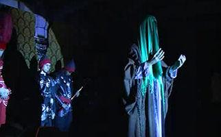 هنرمندان برجسته روسی، تعزیه خوان قیام عاشورای حسینی + فیلم