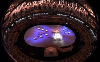 گزارش تصویری مراسم افتتاحیه المپیک توکیو
