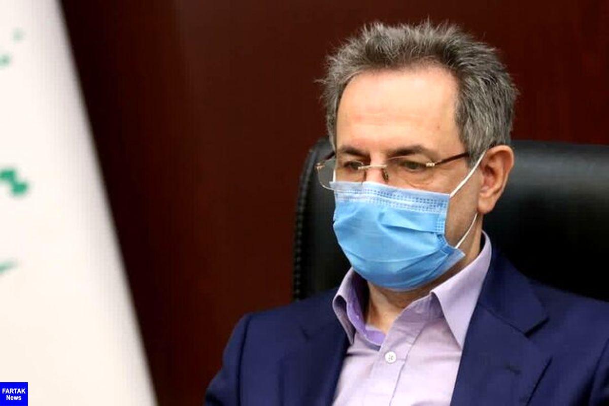 پذیرش بیمارستانی بیماران کرونا در تهران نزولی شد