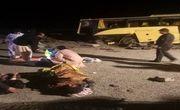 حادثه برای اتوبوس مسافربری با 1 کشته و 20 مصدوم
