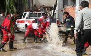 امدادرسانی هلال احمر به سیل زدگان 4 استان کشور