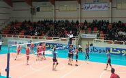پیروزی تیم پیام مشهد در لیگ برتر والیبال کشور مقابل عقاب نهاجا