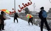 مدارس برخی شهرستانهای آذربایجان شرقی در روز شنبه تعطیل شد