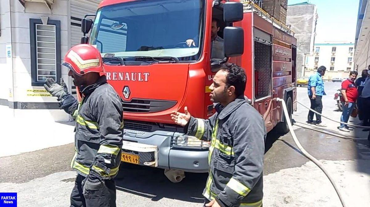 آتشسوزی در یک مجتمع تجاری دزفول