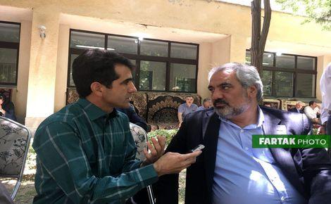 استاندار کردستان از حضور مظهر خالقی در ایران میگوید