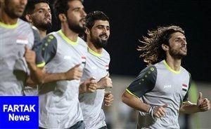 بشار رسن در ترکیب اصلی عراق مقابل آرژانتین