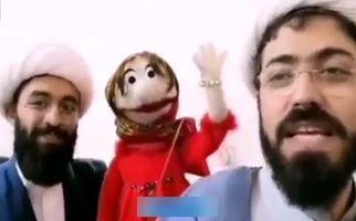 روحانی عروسکگردانی که با هنرش دین را تبلیغ میکند