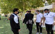 گزارش تصویری دیدار تاتار با نفرات تیم ملی امید