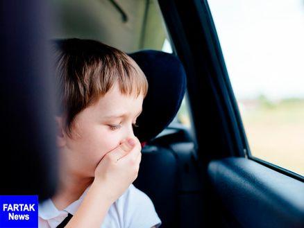 درمان فوری بیماری حرکت در مسافرتهای طولانی با ماشین