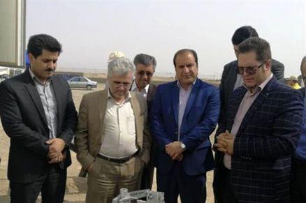 بالن اینترنتی برای ارایه خدمات به زائران اربعین حسینی در مرز مهران مستقر شد