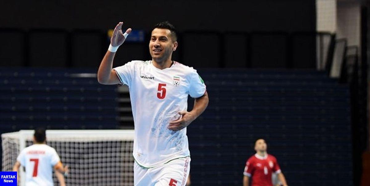 جام جهانی فوتسال- لیتوانی  پیروزی ملی پوشان ایران مقابل صربستان در یک بازی نفس گیر