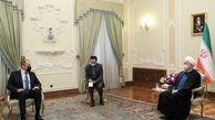 روحانی در دیدار با لاوروف: تنها راه آمریکا برای بازگشت به برجام، لغو تحریم ها است