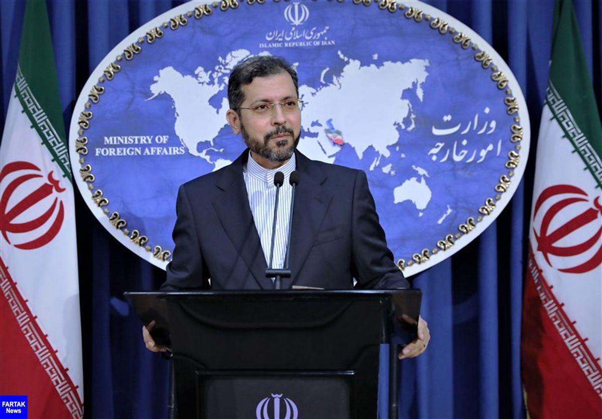واکنش سخنگوی وزارت امور خارجه به دروغپراکنیهای توئیتری پامپئو علیه ظریف