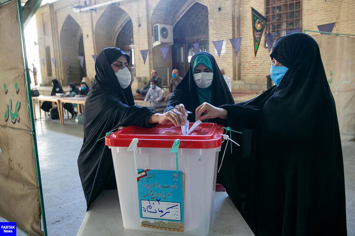پایان رای گیری در در حوزه های انتخابیه کرمانشاه
