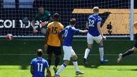 لیگ برتر انگلیس  برتری قاطع ولورهمپتون مقابل اورتون