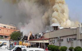 بازار پردیس کیش در آتش سوخت/فیلم