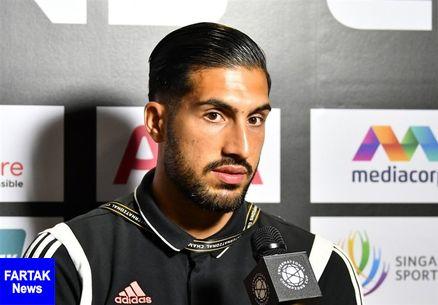 واکنش امره جان به خط خوردن اسمش برای بازی در لیگ قهرمانان اروپا