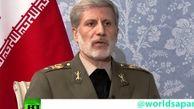 وزیر دفاع:ایران و روسیه برای ایفای نقش مستقل مورد هجمه های آمریکا هستند
