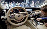 اسرار داخل خودروی پوتین را از لنز دوربین مشاهده کنید+فیلم