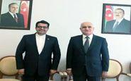 تلاش دیپلماتیک ایران و جمهوری آذربایجان برای گسترش همکاریهای اقتصادی