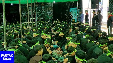 تجمع بزرگ «أحلی من العسل» در امامزاده ابراهیم کرمانشاه