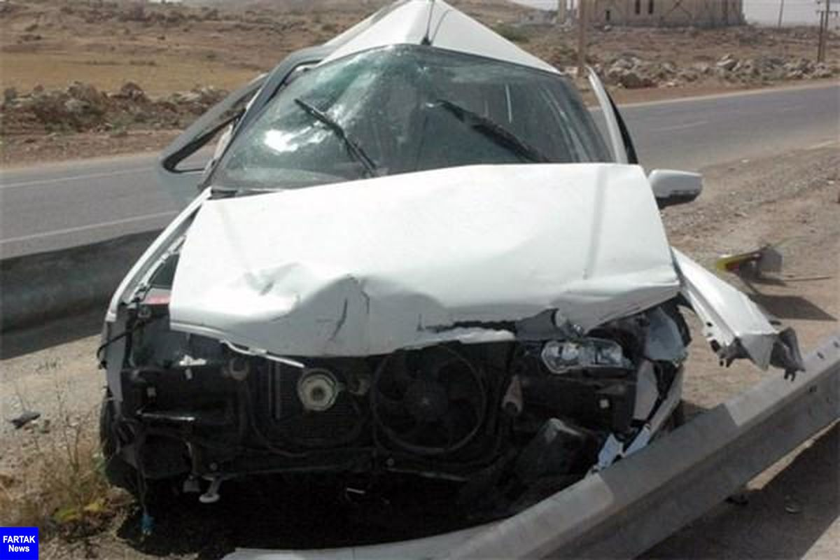 دور زدن بی موقع راننده را به کام مرگ برد