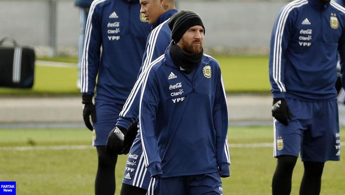 مسی به صورت حتمی به بازی با اسپانیا میرسد