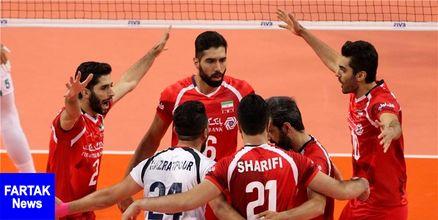 والیبالیستهای ایران در نیمه مرداد 98 مصاف میدهند