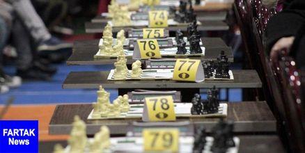 شطرنج جام کاسپین  توقف مصدق پور در دور سوم جام