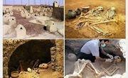 66 گورباستانی در شهر سوخته کشف شد