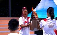 مراسم روشن کردن مشعل المپیک توکیو 2020 + فیلم