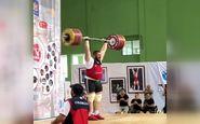 لحظه شکستن رکورد رضازاده با وزنه ۲۶۴ کیلوگرمی!+فیلم