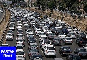آخرین وضعیت ترافیکی صبح امروز ۲۱ مردادماه
