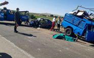 سانحه رانندگی مرگبار در شهرستان بستان آباد