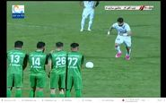 سوپرگل کارلوسی فرشاد محمدیمهر در فولادشهر