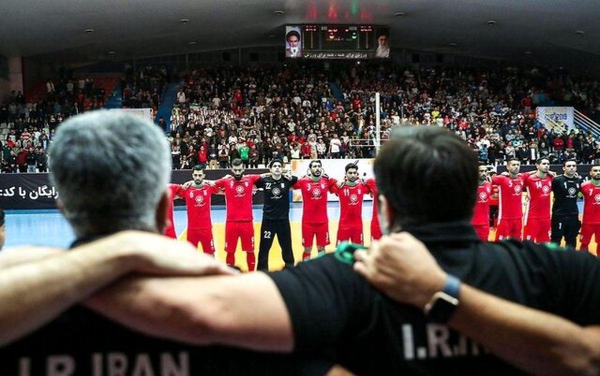 انصراف احتمالی تیم ملی اسپانیا از بازی با تیم فوتسال ایران