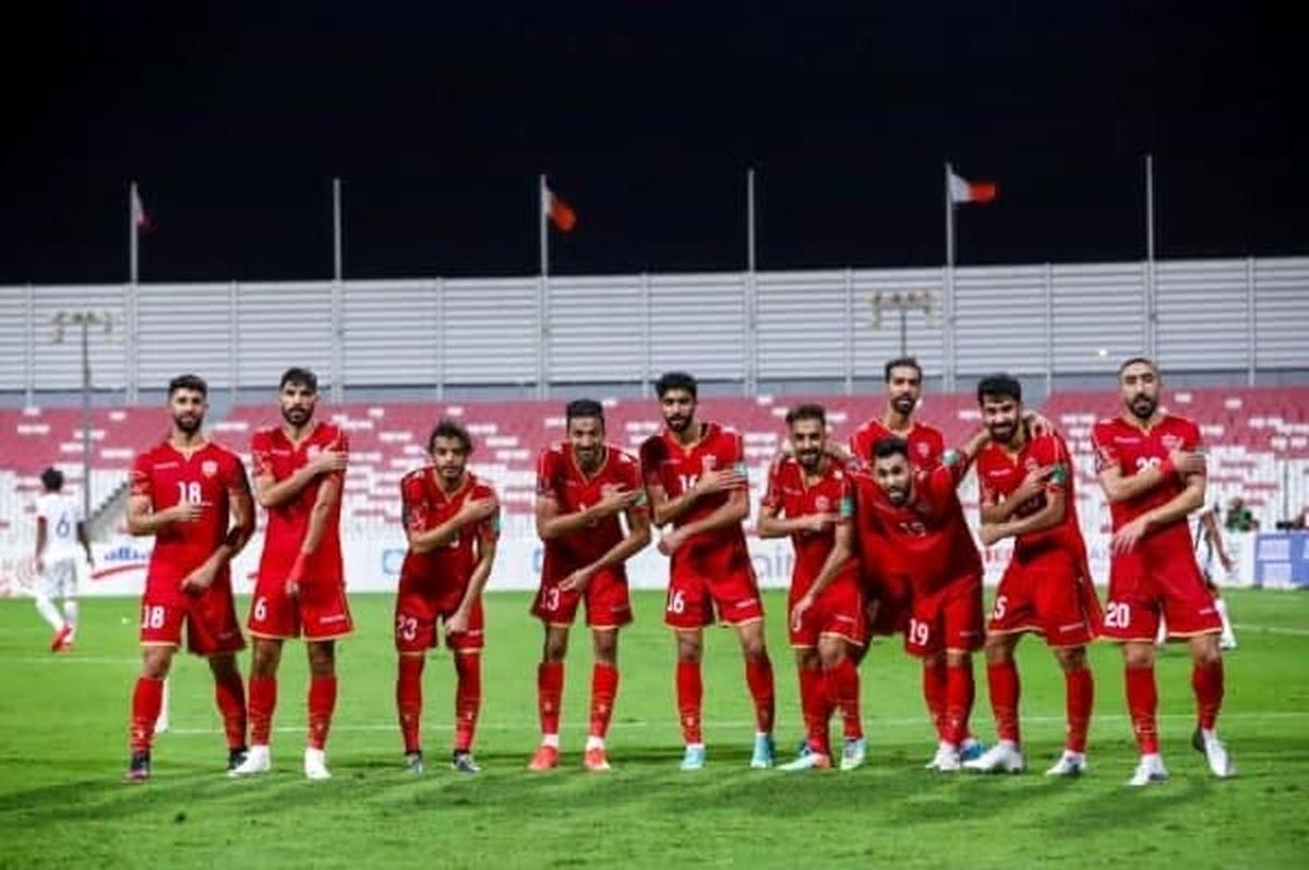 11 بازیکن احتمالی بحرین مقابل ایران