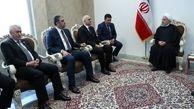 روحانی: روابط تهران - باکو رو به تعمیق و توسعه است