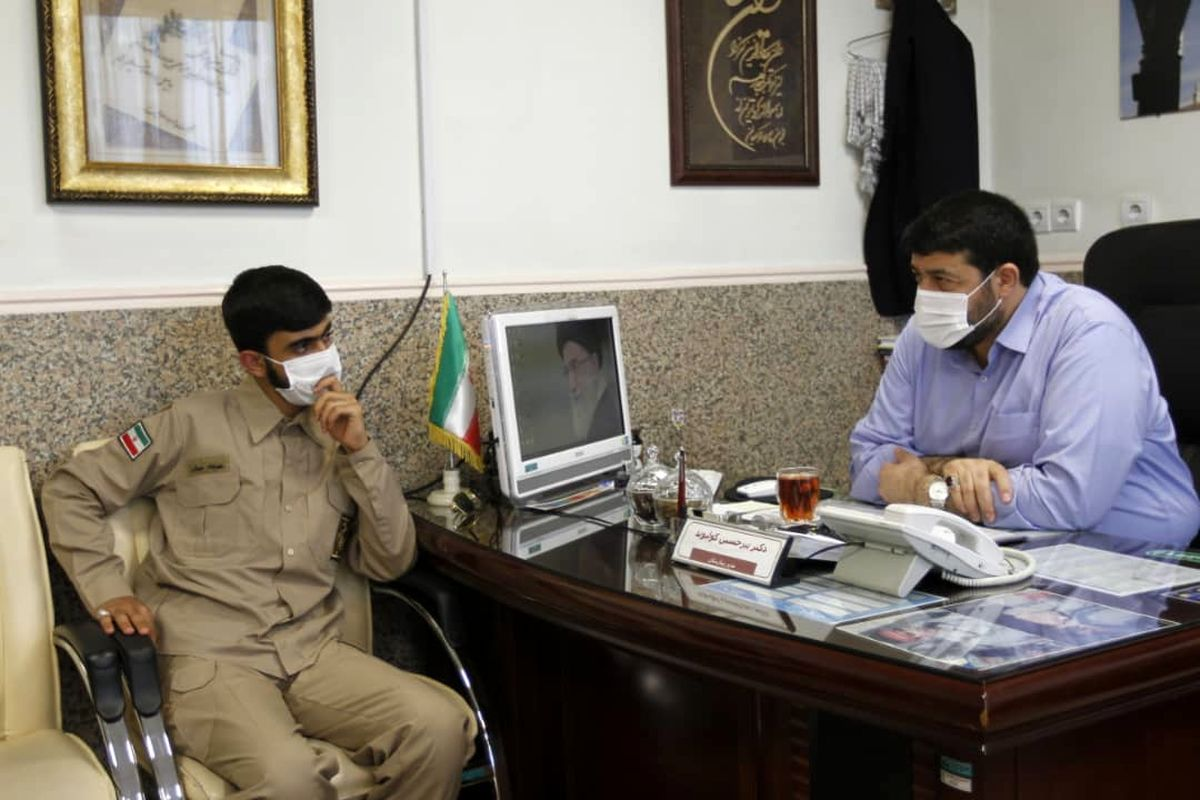 مهرشاد سهیلی با رئیس اورژانس کشور دیدار کرد