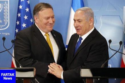 دعوت پمپئو از نتانیاهو برای شرکت در کنفرانس ضدایرانی لهستان