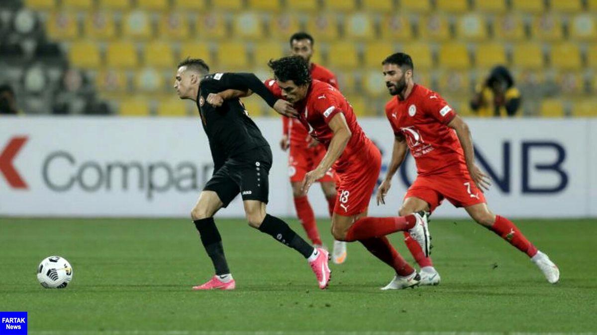 محمدی در ترکیب العربی مقابل قطر+عکس