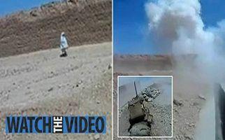 لحظه منفجر شدن کودک افغانستانی در حمله انتحاری